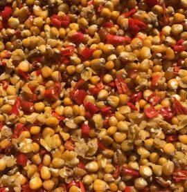 Prepared Maize and Chilli